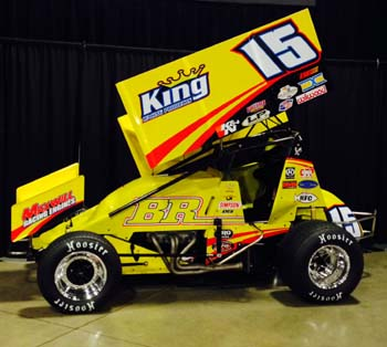 blake robertson and br motorsports to field sprint car in new division racesaver 305 diecast. Black Bedroom Furniture Sets. Home Design Ideas